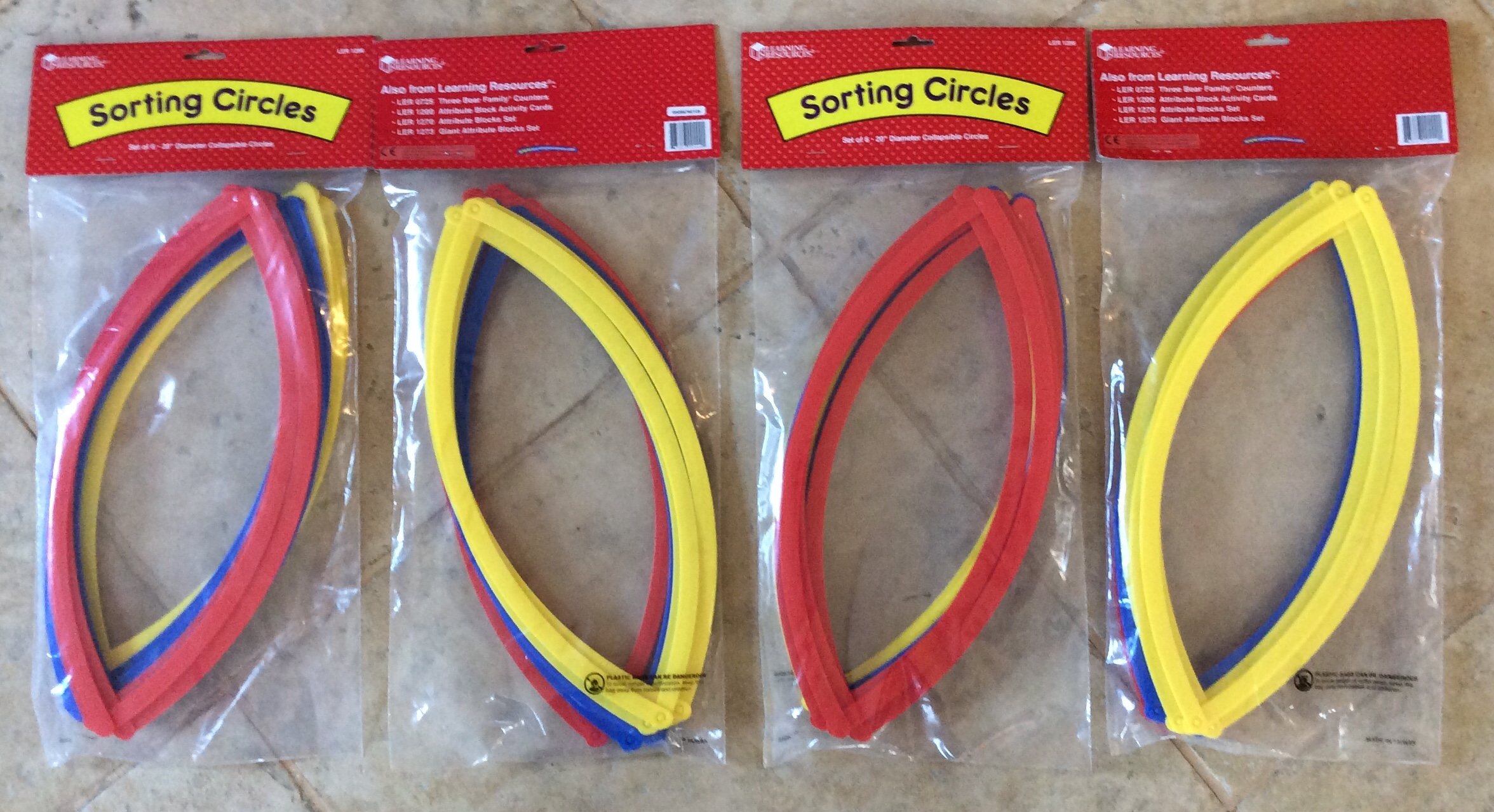 Circle Perfect Set of 5 Compass Learning Resources 45748
