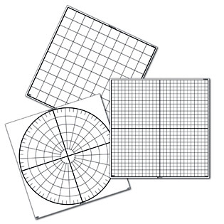 Polar Graphing Paper on Computer Generated Math Worksheets